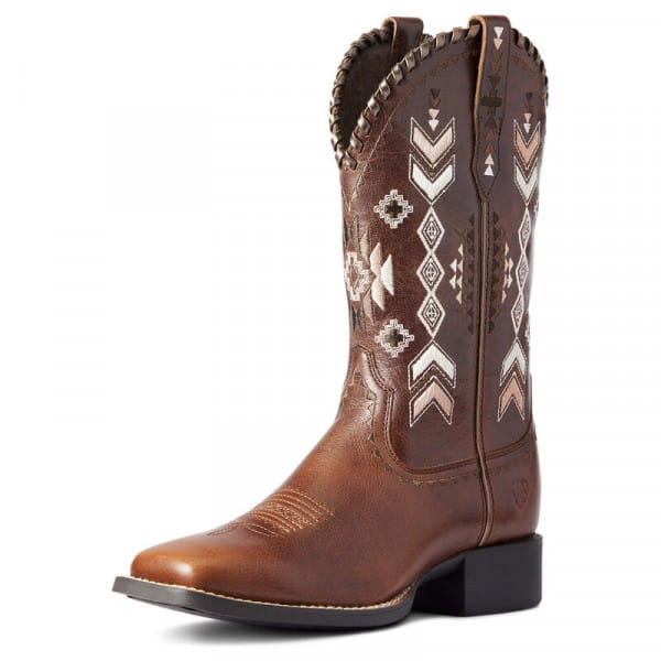 Ariat Womens Round Up Skyler Western Boots canyon