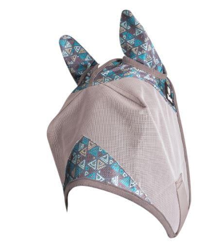 Cashel Patterned 2021 Fliegenmaske mit Ohren