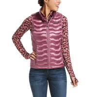 Ariat Womens Ideal 3.0 Down Vest Rose Cocoa