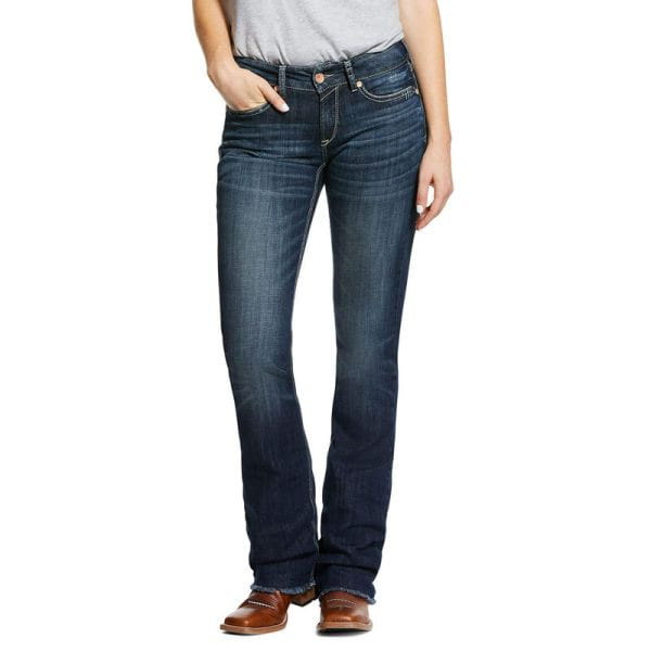 Real Riding Perfect Rise Stretch Patty Stackable Straight Leg Jeans