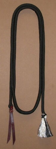 Double Diamond Lead Rope Poly/Dacron Bodenarbeitsseil 3,65m
