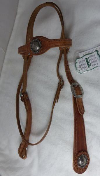Buckaroo Traditional Cowboy Style Kopfstück / Zügel Set