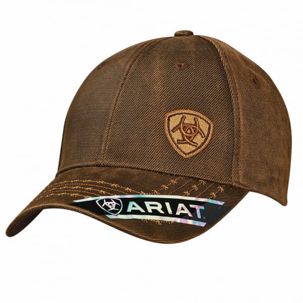 Ariat Unisex B Fit Cap oilskin brown