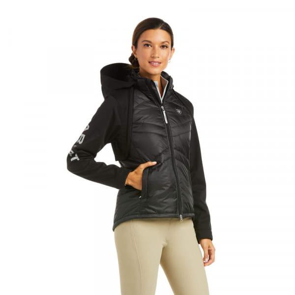 Ariat Womens Respond Jacket 2in1 black