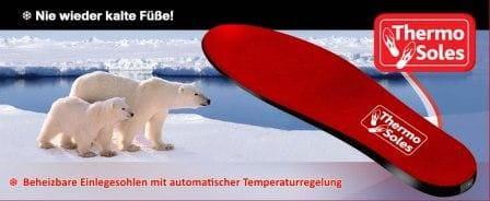 Thermo Soles - kabellose Schuhheizung