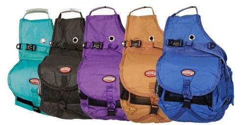 Showman Multi Pocket Saddle Bag
