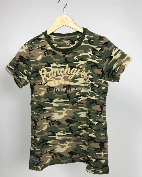 OSWSA Ranchgirl T-Shirt Cleo cream camou