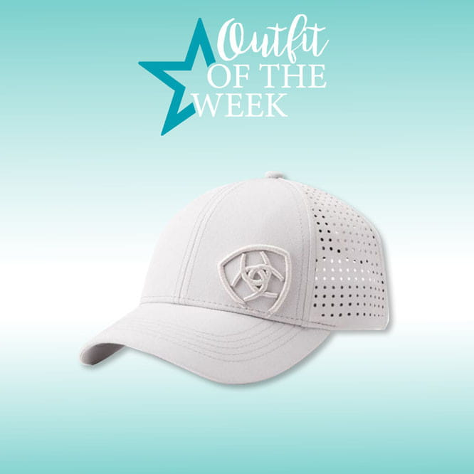 Ariat Tri Factor Cap silver grey