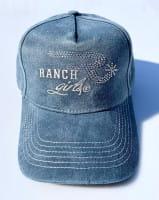 Ranchgirl Cap Fade Out greystone