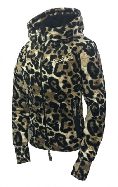 Ranchgirl Fleece Jacket Abby Leopard