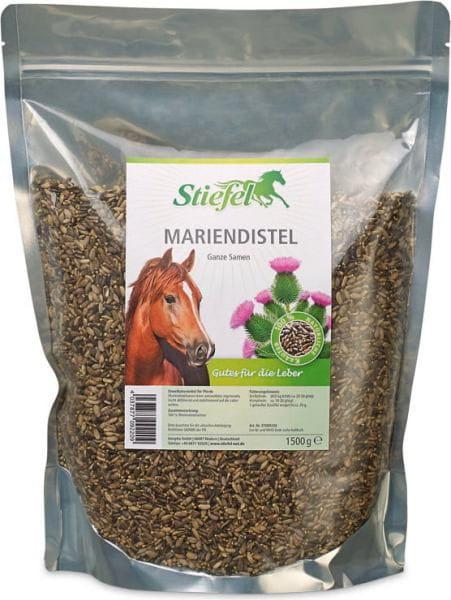 Stiefel Mariendistel, ganze Samen, 1,5 kg