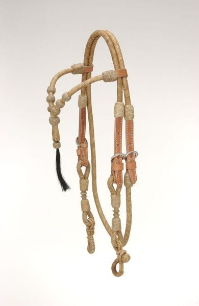 Rawhide Kopfstück Knotted Stirnband mit Tassel