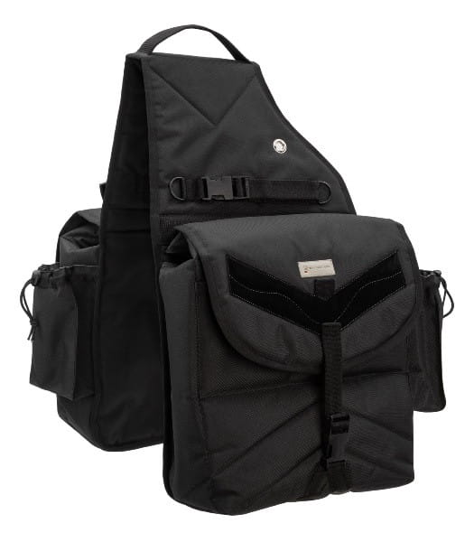 Premium Doppel Packtasche black