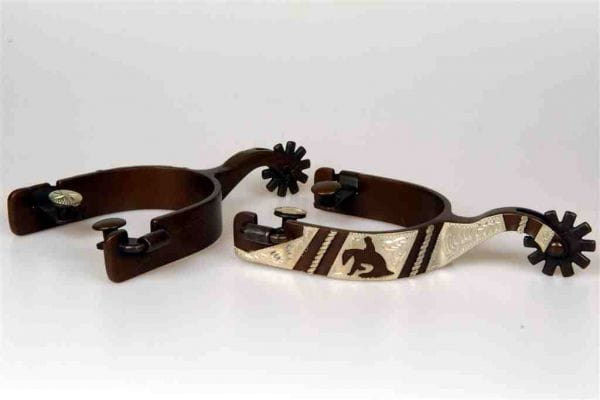 Lami-Cell Antique Reining Spurs FG Collection