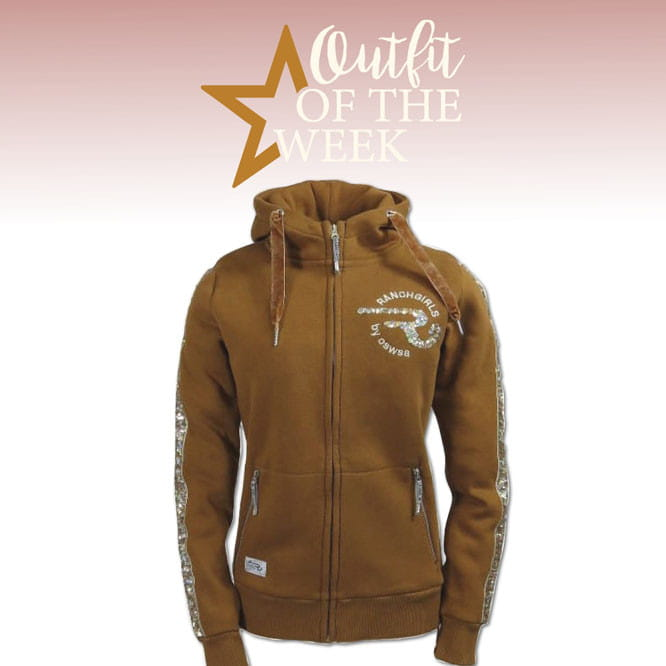 Ranchgirl Hooded Sweat Jacket Jazz cinnamon