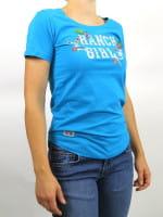 OSWSA Ranchgirl T-Shirt Luisa türkis
