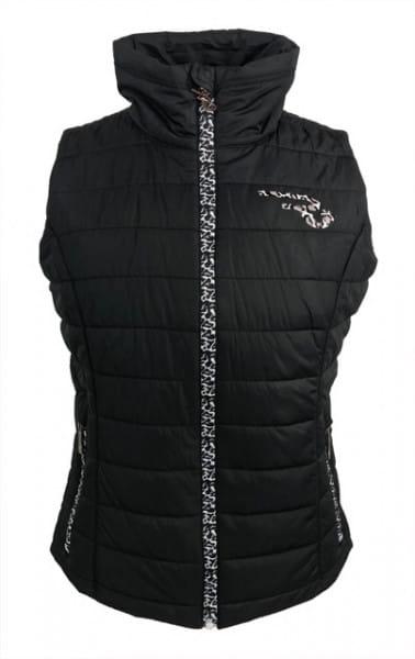 Ranchgirl Vest pro.tec.you CIRA black leopard