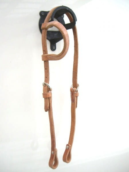 Harness Kopfstück - Hermann Oak Leather - Einohr