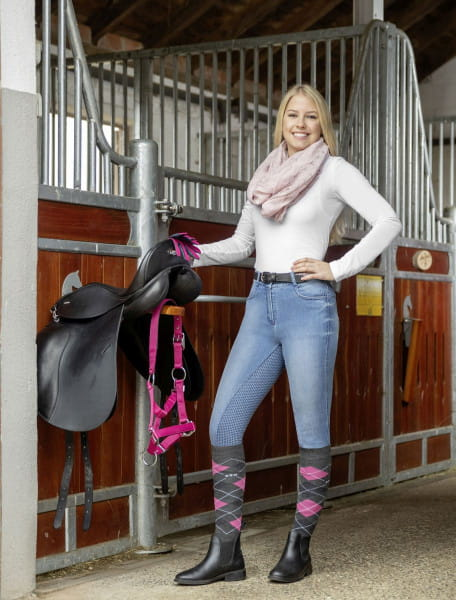 Damen Jeansreithose Kimberly Vollbesatz