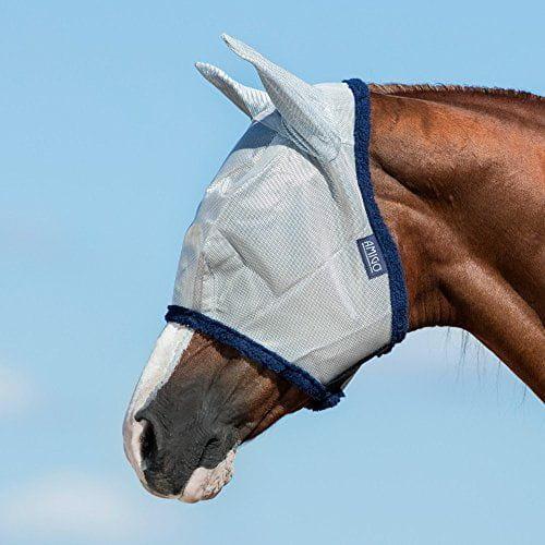 Horseware Amigo Fliegenmaske mit Ohren