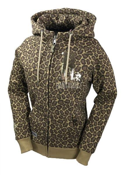 Ranchgirl Hooded Jacket Shiny Leopard