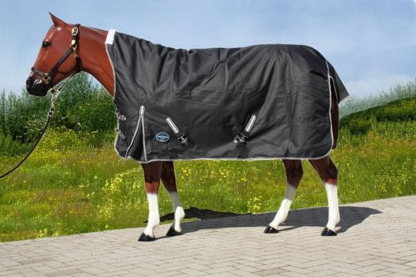Tough Horse 1680D Regendecke mit Half Neck