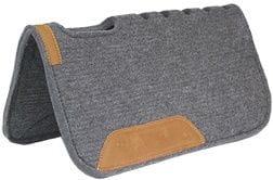 Premium Wollfilz-Pad mit hochwertigem Lederbesatz