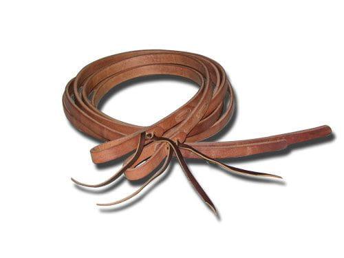 Buckaroo Professional Heavy Leather Split Rein 1/2