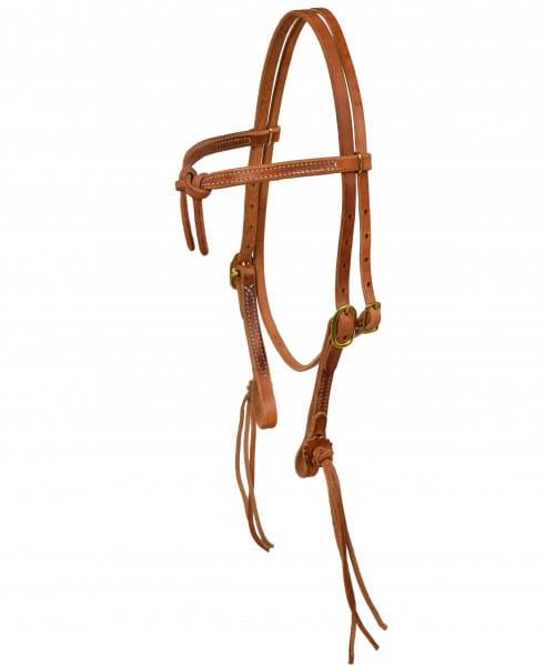 Ultimate Cowboy Gear Rattlesnake Knotted Kopfstück