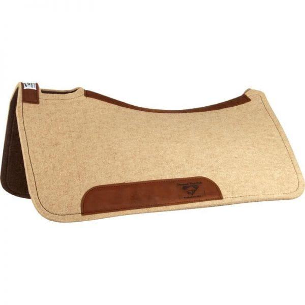 Diamond Wool Contoured Cowboy Pad 1/2 Inch (Padliner)