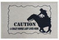 Fußmatte Crazy Horse Lady
