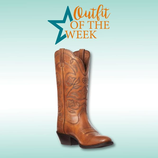 Ariat Womens Western R Toe