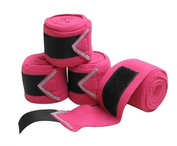 Polo-Wraps Fleece Bandagen Rhinestone 6 Farben