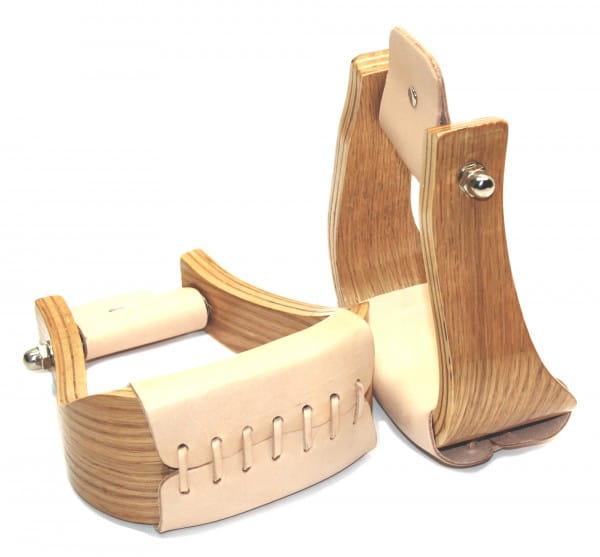Holz Steigbügel konisch