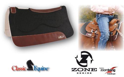 Classic Equine Zone Felt Pad 1