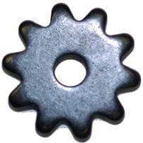 Sporenrädchen klein 10fach schwarz