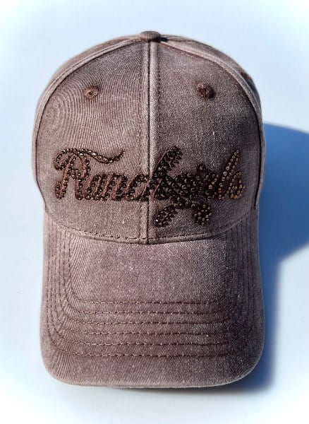 Ranchgirl Cap Fade Out brown