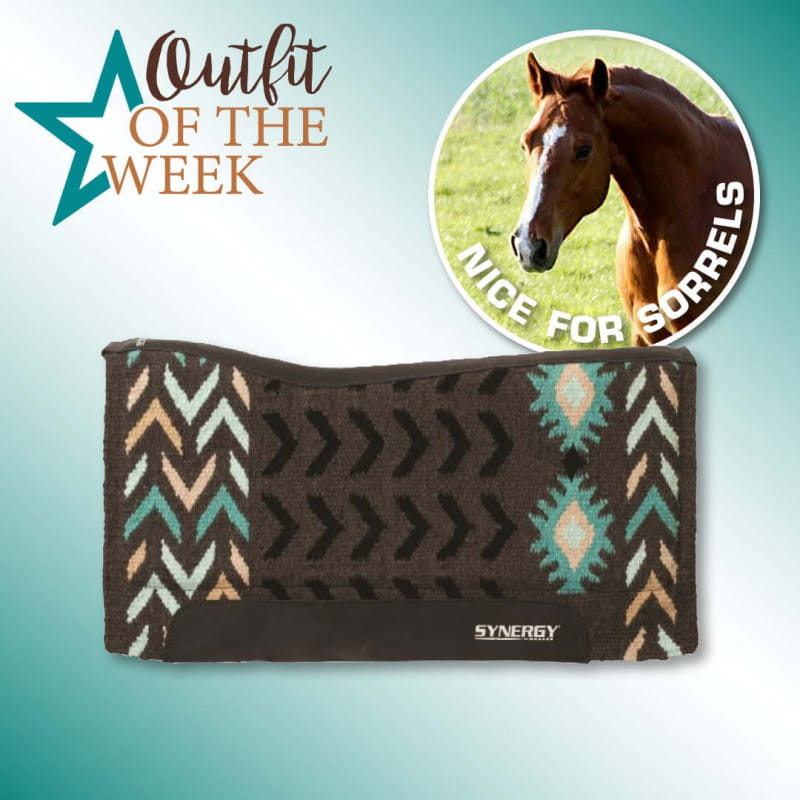 """Weaver Synergy Contoured Performance Pad Insignia 33x38"""""""
