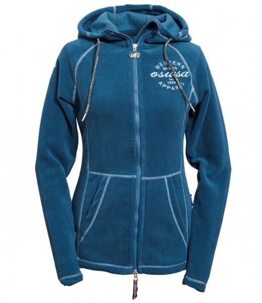 OSWSA Womens Polarfleece JKT Carmen patrol blue