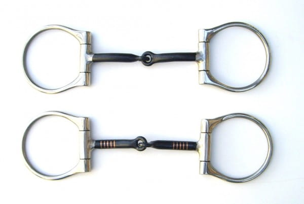 Heavy Black D Ring Snaffle