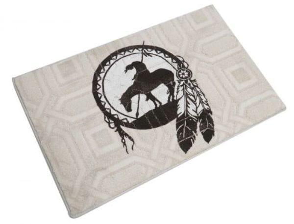 Fußmatte Indian on Horse