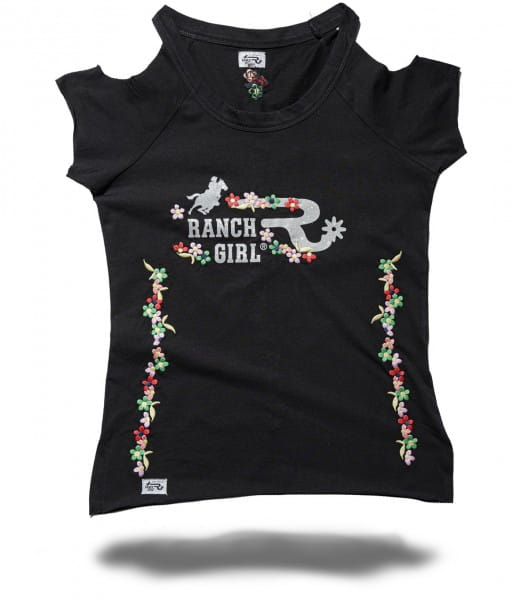 Ranchgirl T-SHIRT MARY black