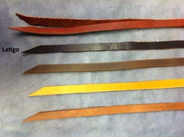 Buckaroo Leather Saddle String Latigo