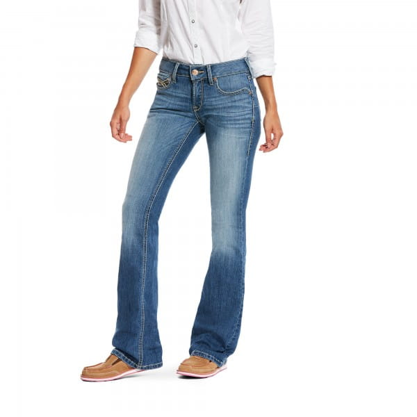 Ariat Womens Real BOOT CUT CROSSROADS Jeans