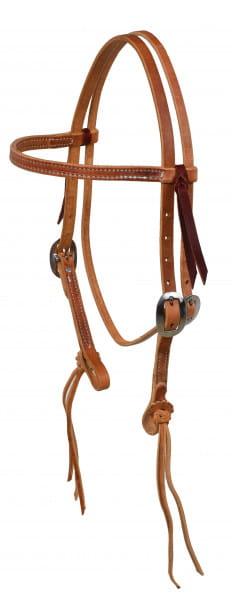 Ultimate Cowboy Gear Rattlesnake Browband Kopfstück