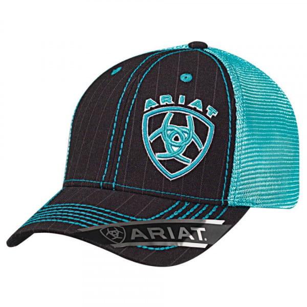 Ariat Unisex B Fit Cap black/turquoise