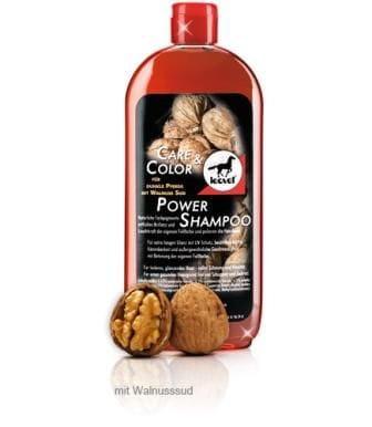 Leovet Power Shampoo mit Walnuss dunkle Pferde