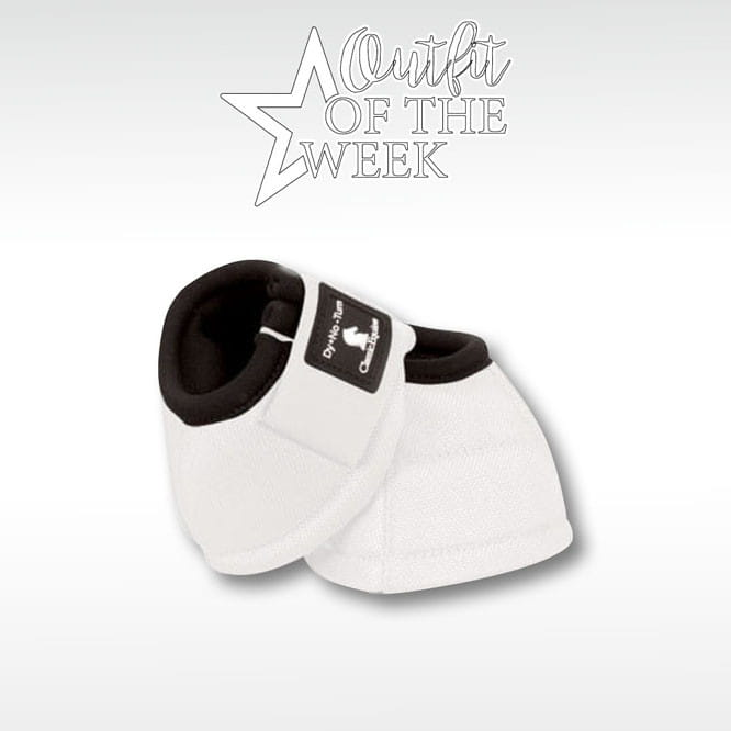 Classic Equine Bell Boots no turn weiss