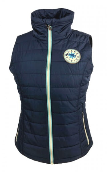 Ranchgirl Vest pro.tec.you CIRA indigo blue
