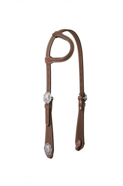 Weaver Einohr Kopfstück Basin Cowboy